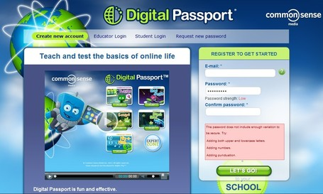 Digital Passport by Common Sense Media | Integrating Technology in the Classroom | Scoop.it