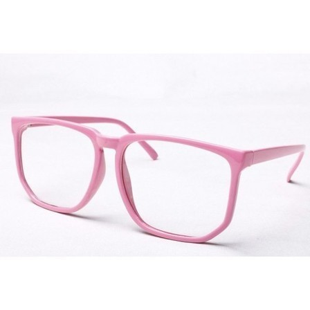 Fausse Lunette Geek Rose | Because Vintage is Fashion ! | Scoop.it