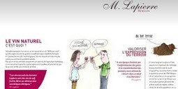 Le vin naturel, c'est quoi ? Réponse sur le nouveau site internet de Marcel Lapierre avec des illustrations de Siné — Bourgogne Live | Site d'information sur le vin, l'œnotourisme et l'art de vivre... | vin naturel | Scoop.it