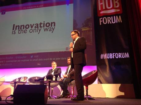 Les tendances de l'innovation et du digital par Emmanuel Vivier #hubforum   Digital marketing in physical world   Scoop.it