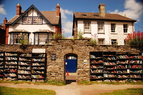 Exploring Britain: Hay-on-Wye – The Town of Bookshops | 21st Century School Libraries | Scoop.it