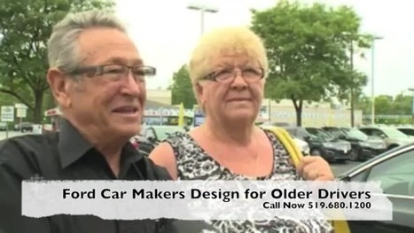 "Car Designers Wear ""age Suits"" To Vehicles For Older Drivers Fordservice 
