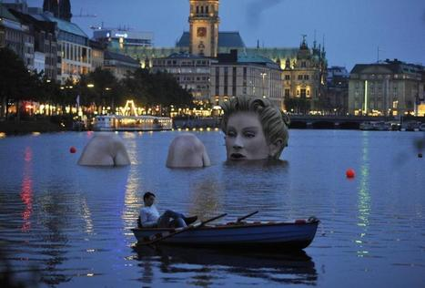 'Die Badende' (The Bather) by Oliver Voss   Art Installations, Sculpture, Contemporary Art   Scoop.it