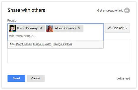 Nuevas características en Google Drive que facilitan el trabajo colaborativo | Educación Matemática | Scoop.it