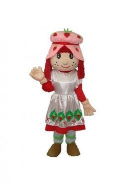 Strawberry Girl Human Plush Adult Mascot Costume [5012498] - $191.00 : Shopping Cheap Dresses,Costumes,Quality products from China Best Online Wholesale Store | Cutest Mascot Costumes | Scoop.it