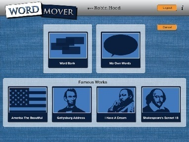 Word Mover - ReadWriteThink | 6-Traits Resources | Scoop.it