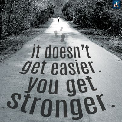 #Leaders - It Doesn't Get Easier ... You Get Stronger | The Heart of Leadership | Scoop.it