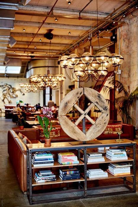 Luxe, calme et co-working : Manhattan réinvente le travail en open space l Madame Le Figaro | Le télétravail | Scoop.it