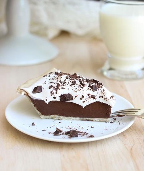 Vegan Silk Chocolate Pie - Making Thyme for Health | Vegan Food | Scoop.it
