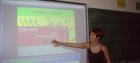 La pizarra digital en el aula de música (I)   #REDXXI   Scoop.it