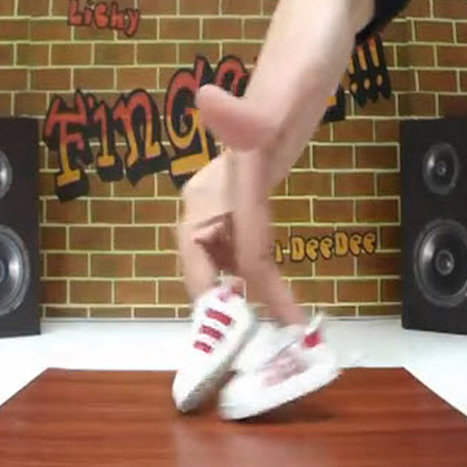 There's a thing called finger break dancing, and here it is | Viral Dance | Scoop.it