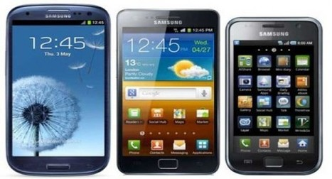 Smartphones da linha Galaxy   Notícias   Scoop.it
