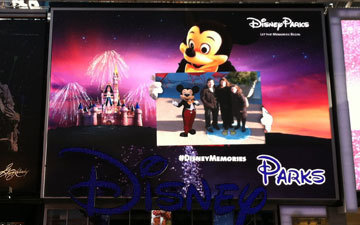 Disney Characters Get Augmented in Times Square [VIDEO] | Psychology of Consumer Behaviour | Scoop.it