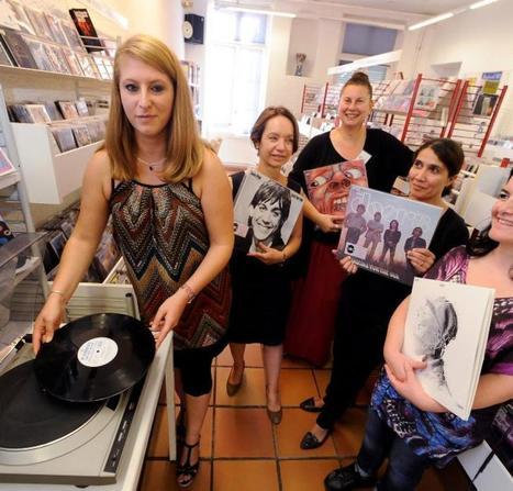 Le vinyle  fait son petit retour | Bibliothèques et culture numérique | Scoop.it