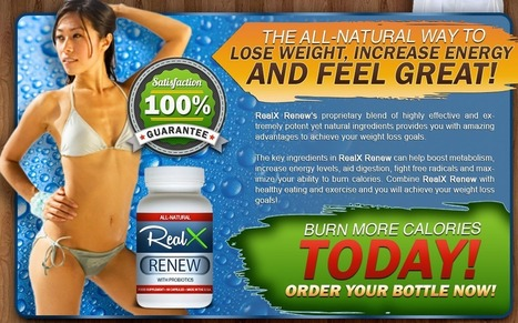 Real X Renew Review - GET FREE TRIAL SUPPLIES LIMITED!!! | Attractive Body And Slim Body Fitness Diet | Scoop.it