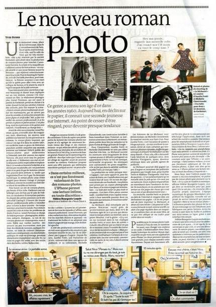Le Monde – 4 Mars 2013 – Le Nouveau Roman Photo | celebrités | Scoop.it