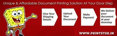 Online Document Printing Delhi | Best Online document Printing services Delhi NCR | Scoop.it