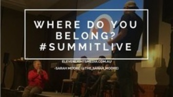 Where Do You Belong? #SummitLive 2016 | Eleven Lights Media | Digital Social Media Marketing | Scoop.it