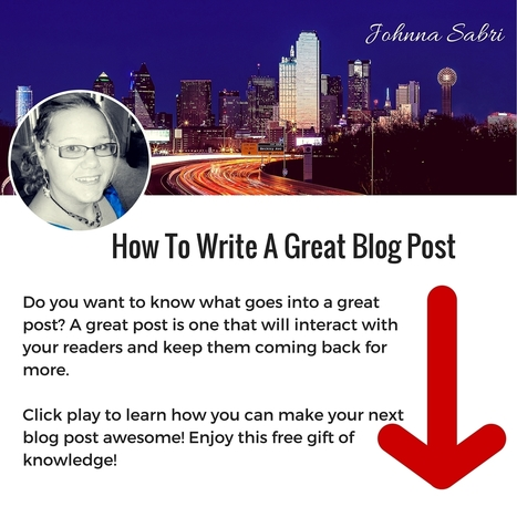 How to write a Great Blog Post | AngelTD Social | Scoop.it