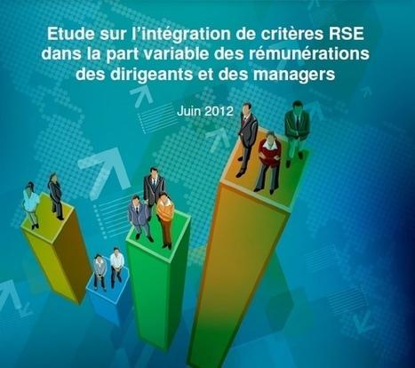 Et si on indexait la rémunération des dirigeant(e)s à la RSE ? #ideecop21 | RH EMERAUDE | Scoop.it