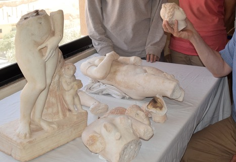 Researchers unearth ancient mythological statues in Jordan | News in Conservation | Scoop.it