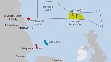 Éolien offshore : Londres donne son feu vert au plus grand projet de ferme au monde | News-Actualites- Nouvel gaye | Scoop.it