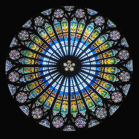 Carl Jung:  The Rose Window is a mandala and we come here to a curious analogy between East and West, | Me Again!! | Scoop.it