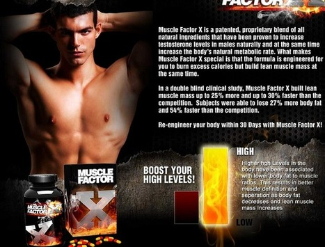 Interested in Muscle Factor X? - You Need To Read This First Before You Try It! | I Wana Build My Body Shape | Scoop.it