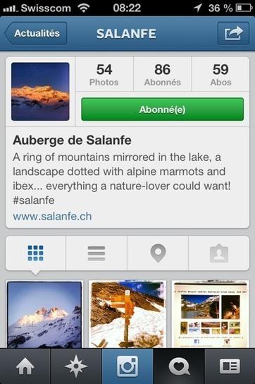 Des hôtels du Valais se lancent sur Instagram | ritzy* formation continue - ritzy* Weiterbildung | Scoop.it
