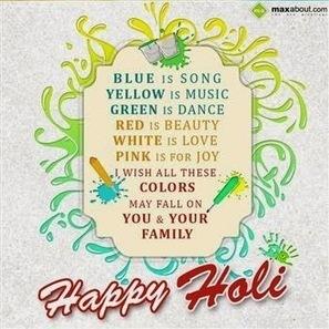 Happy Holi Wishes - Happy Holi SMS - Happy Holi Greetings • Holi Festival 2014   Holi Festival 2014   Scoop.it