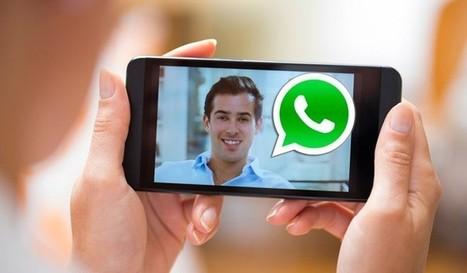 Ahora se hacen presentes las videollamadas en whatsapp | Tecnología | Scoop.it