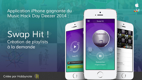 Hobbynote vainqueur du Music Hack Day Paris ! | Radio 2.0 (En & Fr) | Scoop.it