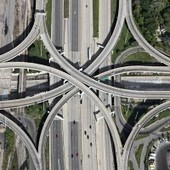 Aerial Freeway Photos Give Engineers Their Due as Geometric Artists | Looks -Pictures, Images, Visual Languages | Scoop.it