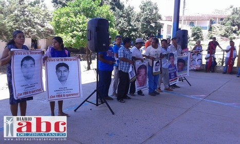 MEXICO - Caravana por los 43 visitan comunidades donde hay jóvenes normalistas desaparecidos | ONG's en PERÚ | Scoop.it