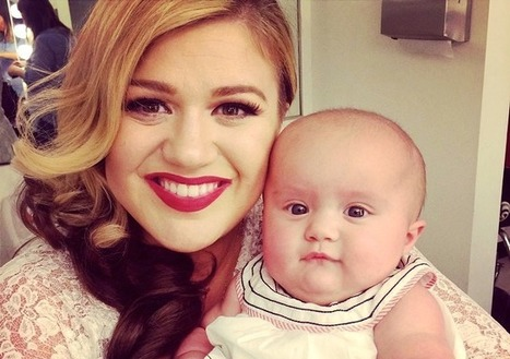 """Kelly Clarkson's New """"Heartbeat Song"""" is Set to Beat of Her Unborn Baby's Heartbeat 