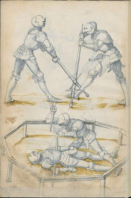 Manuel de combat à l'épée – 1500 | La boite verte | GenealoNet | Scoop.it