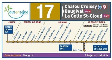 travaux les 17 et 19 sept.2014 - Horaires ligne 17 (Bus en Seine) - Transdev Île-de-France | Croissy sur Seine | Scoop.it