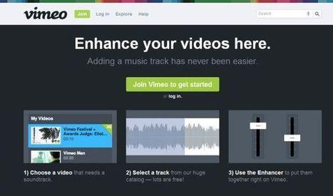 Vimeo ofrece dos nuevas características para incorporar temas musicales en nuestros vídeos | EDUDIARI 2.0 DE jluisbloc | Scoop.it