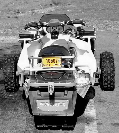 Sand-X | T-ATV 1200 Special Operations Tracked All Terrain Vehicle | FixingIntel | Scoop.it