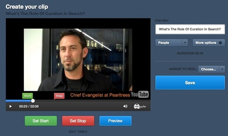 Find, Discover and Curate The Best Part of Any Video Clip with ReelSurfer | Social Media Tips, Tricks, Stuff | Scoop.it