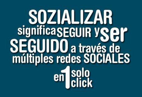 Novedades en SozializeMe, para seguir a un usuario en varias redes sociales con un solo click | Redes Sociales 2.0 | Scoop.it