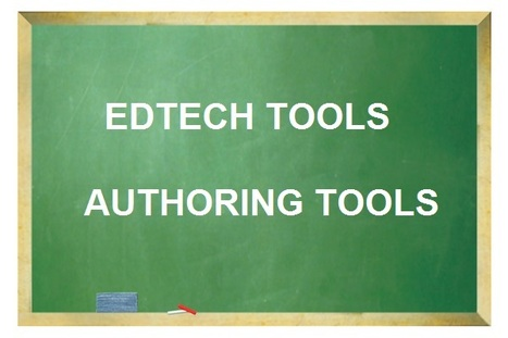 Best EdTech and Authoring Tools lists | iPads in High School | Scoop.it