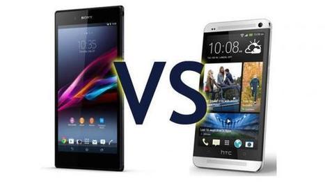 Sony Xperia Z Ultra vs HTC One | Mobile IT | Scoop.it