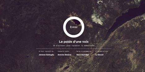 Les web documentaires : 10 exemples de qualité à découvrir - web-documentaires | les web documentaires, nouvel outil d'information-communication | Scoop.it