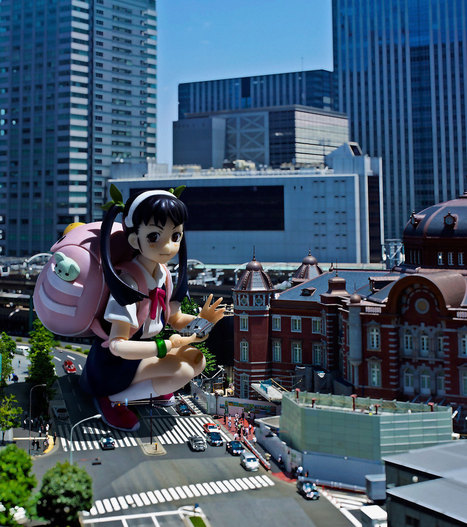 photo - Is it a Dream or Reality? It's Tilt-shift Photography With Popular Anime Figures! | VIM | Scoop.it