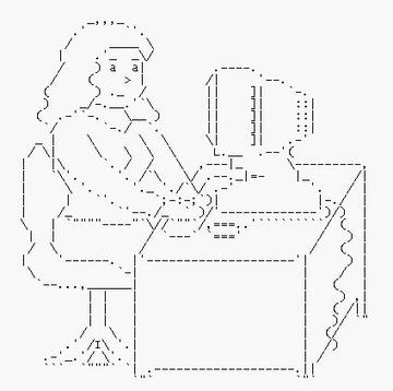 :::ASCII-Kunst - Zeichen sind Inspiration::: - RW Blog | ASCII Art | Scoop.it