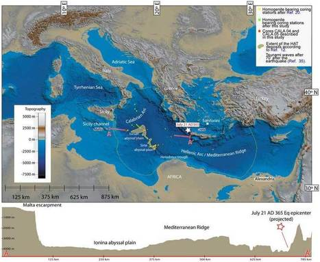 Tsunami in the Mediterranean | Αρχαιολογία Online | Archaeologia Online | Scoop.it