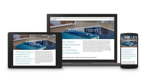 Free Technology for Teachers: A New Version of Google Sites is Coming | New learning | Scoop.it