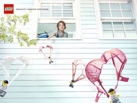 Lego: Parachutes | Ads of the World™ | LEGOtomie | Scoop.it