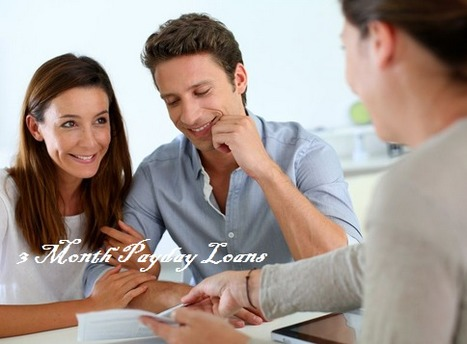 3 Month payday Loans- Beneficial Financial Option For Bad Credit Situation | 3 Month Loans | Scoop.it